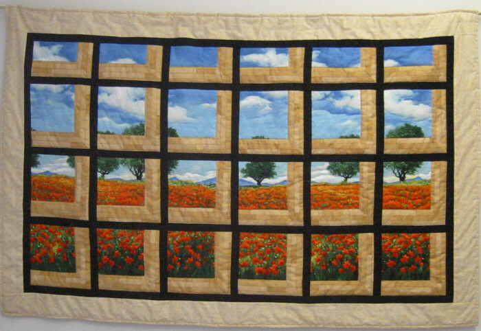 Nancy 39 s quilts for Window quilts
